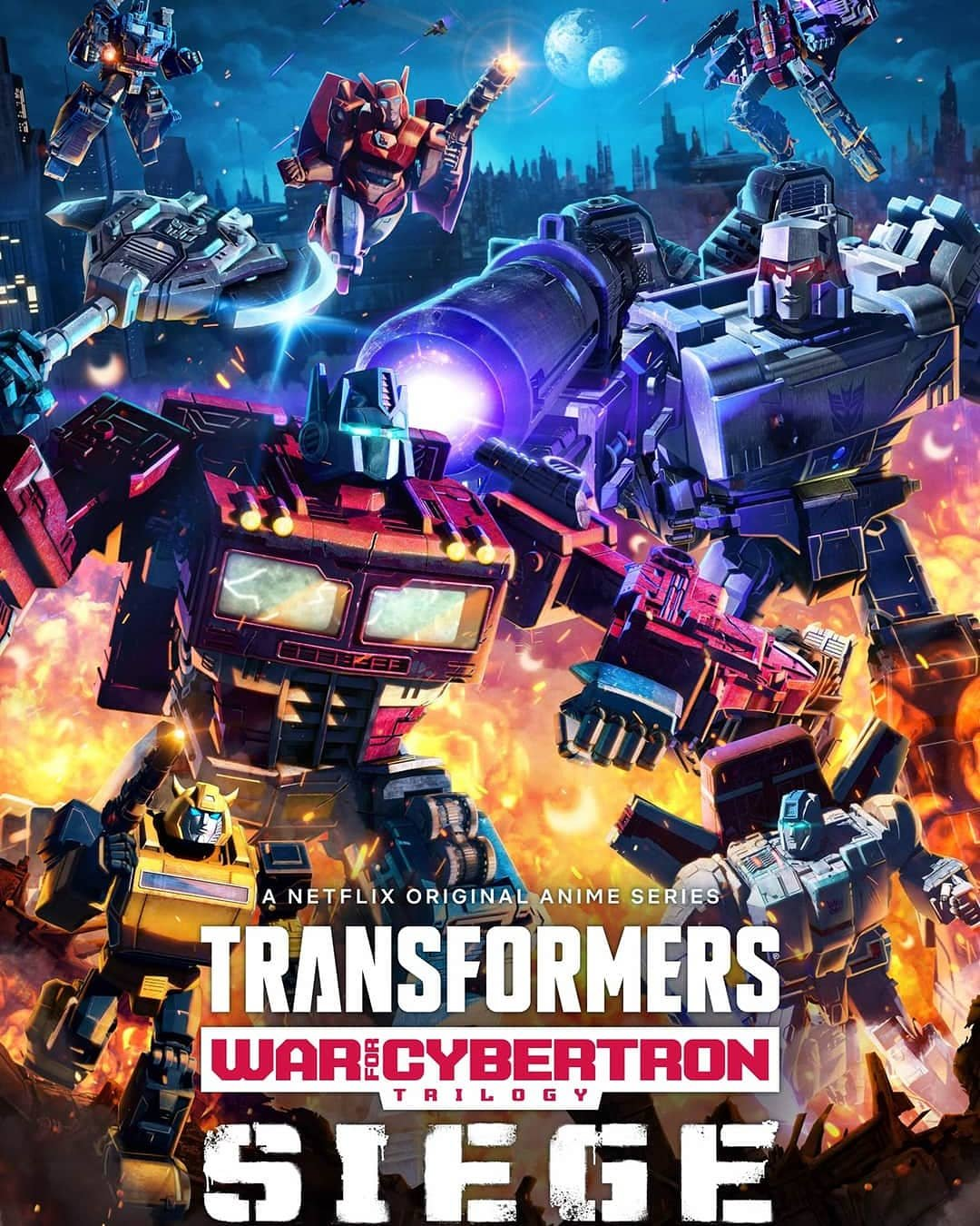 Transformers: War for Cybertron – Siege is now streaming in Hindi Dub on Netflix India.