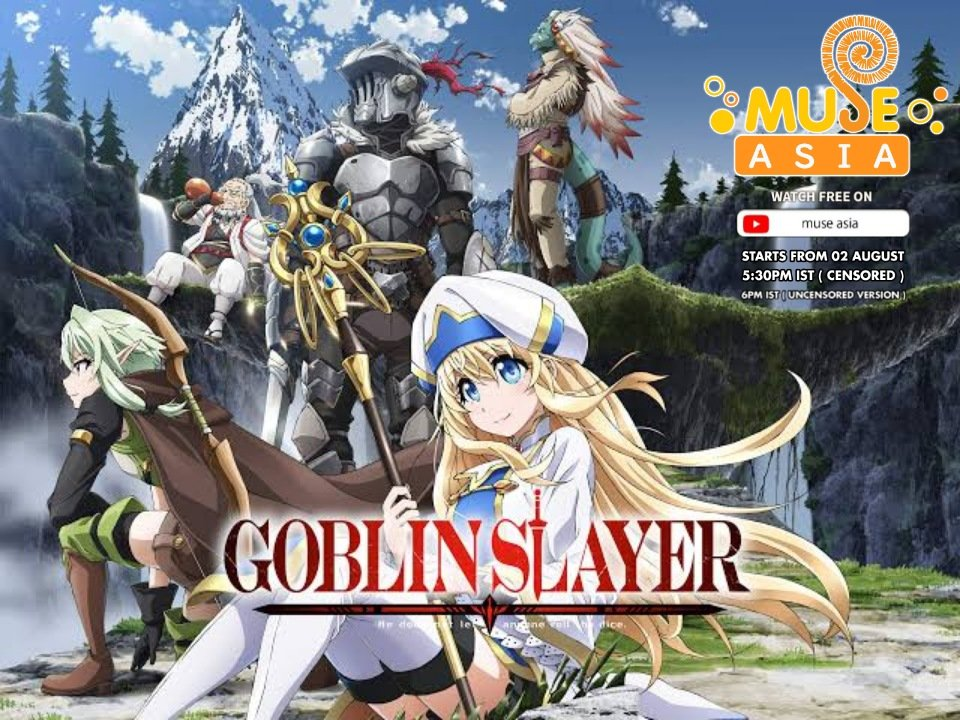 Muse Asia to Stream Goblin Slayer Anime on YouTube In August